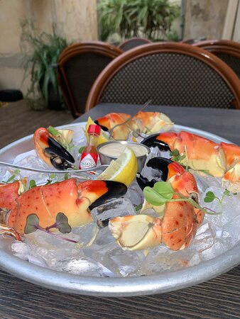 Stone Crabs when in Season!