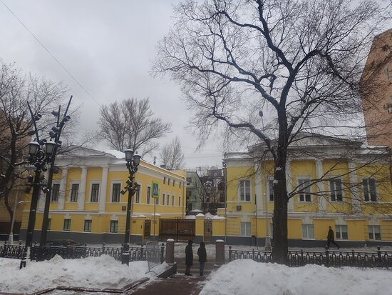 City Manor House of the Early 19th Century
