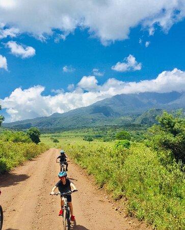 Meru villages bike ride