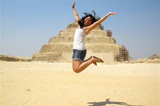 Demi-journée à Dahshur Pyramid Memphis...
