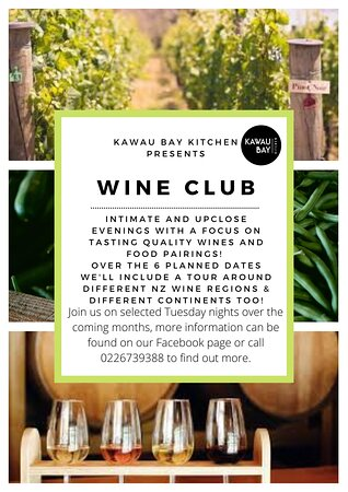 Wine Club coming soon - get in touch to find out who, what and when!