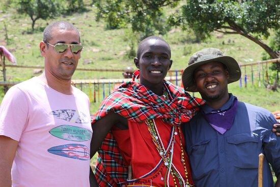 on a fam trim in kenya