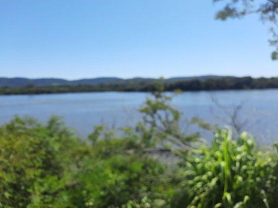 Porto Xavier, RS: Rio Uruguai