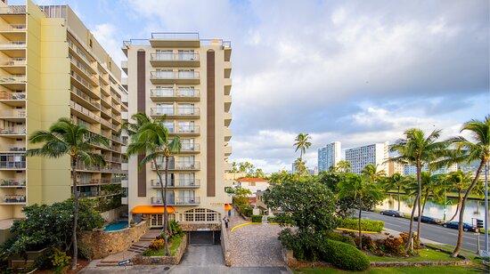 Coconut Waikiki Hotel, hoteles en Honolulu