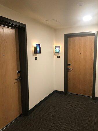 Hallway & room doors