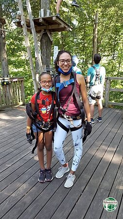 1 3 Hour Zipline Aerial Adventure Park At The Discovery Museum Picture Of Ziplining And Climbing At The Adventure Park At The Discovery Museum 1 3 Hours Bridgeport Tripadvisor