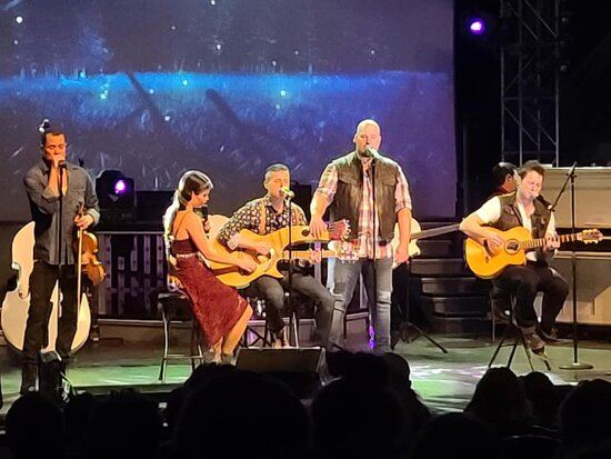 The Haygoods: Branson's Most Popular Show: great sound
