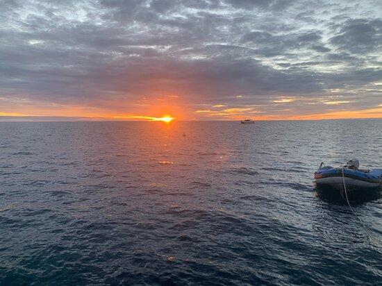 3 Day Whitsundays Sailing and Diving Adventure: Kiana: sunrise on our last day