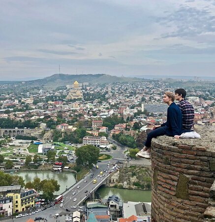 5-Day Holiday Package in Georgia: views from the hilltop of Tbilisi