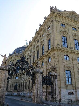 Барочный дворец Вюрцбурская Резиденция