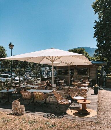 Terrasse du Green Café