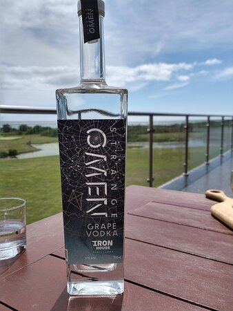 Tasted my first grape vodka. Very smooth and recommended