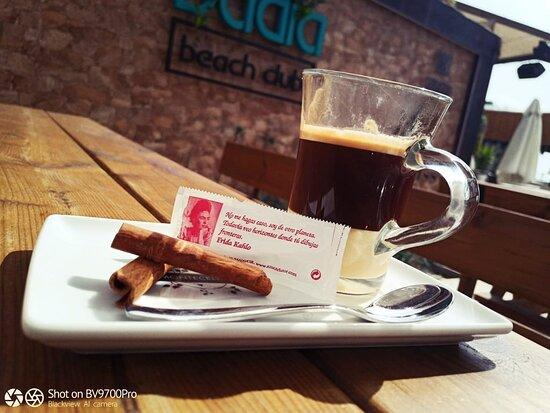 Café bombón.