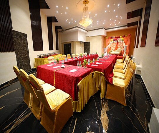 The Red Velvet Hotel believes in confluencing taste, luxury decor, dining, and ambience to gratify your celebrations! To have an unforgettable remembrance of your special days book your venue at - www.redvelvethotel.com or visit us at - The Red Velvet Hotel, Ranjan Path, Near R.P.S More, Bailey Road, Patna or call us at - +91-6202751600