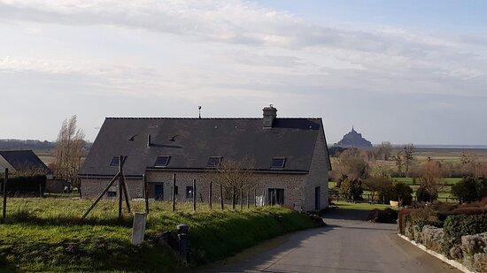 Huisnes sur Mer, Francie: vue de la maison