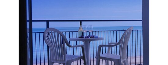 Senigallia, Italia: Relax in balcone sul mare