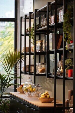 Ghazir, Li Băng: Restaurant / Breakfast Area