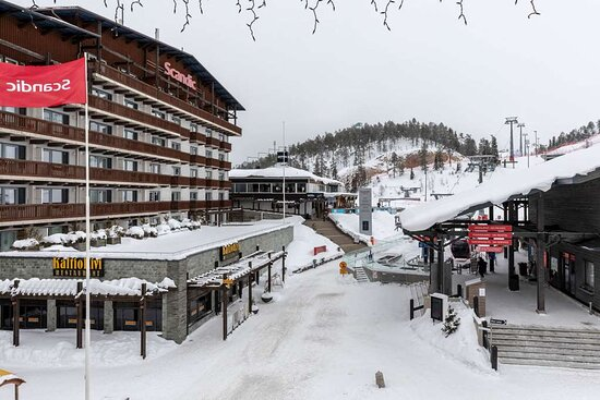 scandic rukahovi hotel exterior view