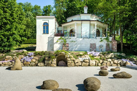 Kapelln, Áo: Teehaus von Schloss THALHEIM