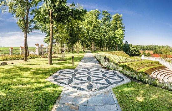 Kapelln, Áo: Schlossgarten