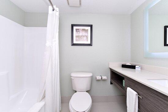 Completely Remodeled Guest Bathroom