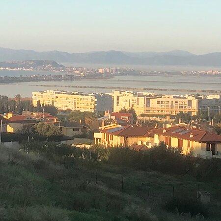 Cagliari risveglio soleggiato