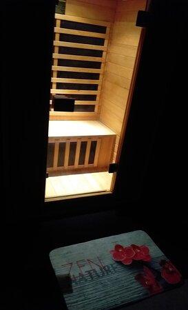 Cabine sauna infrarouge