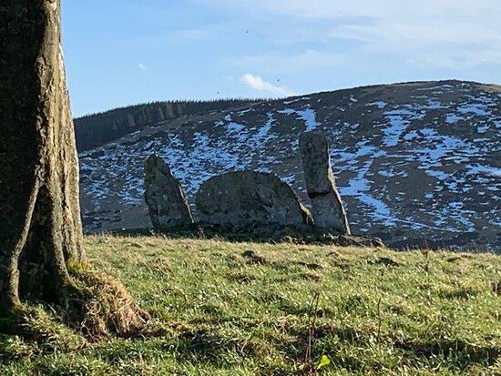 Stonehead Recumbent Stone