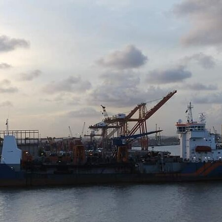 2nd time around in tanker vessel we arrived again in Suape Port. After 10 years this is ordinary when I was in bulk ship it was changes more.