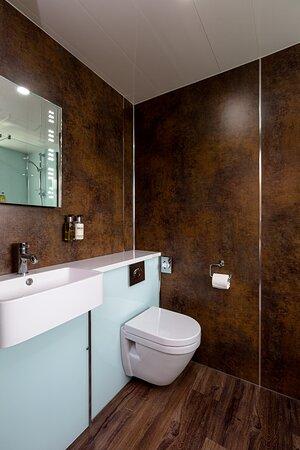 Superior king double en-suite bathroom - room 1
