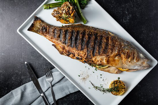 Grilled, juicy and seasoned to perfection! Fish is a specialty at RIME.