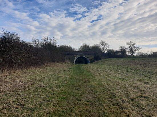 Thorpe Waterville Old Rail Walk.