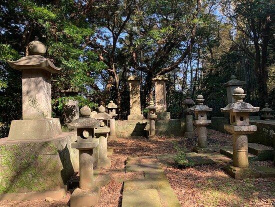 The Grave of the Lord Matsura Takanobu