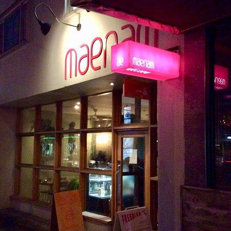 Βανκούβερ, Καναδάς: Signage just outside the restaurant on 4th avenue