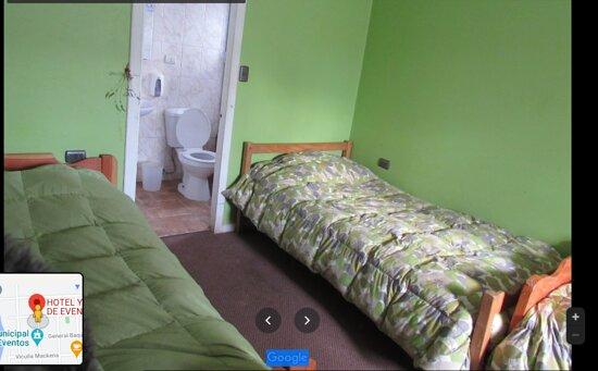 Habitación compartida con baño privado