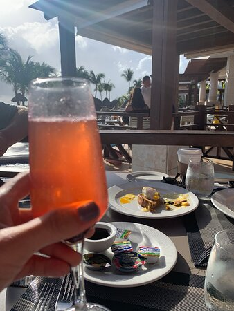 """Breakfast view at """"Lobster House"""""""