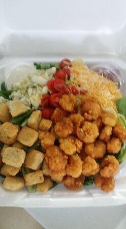 Montegut, LA: Shrimp Salad