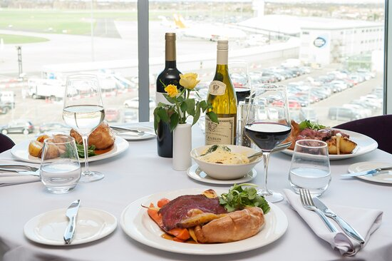 Sunday Roasts available every Sunday at the Rooftop