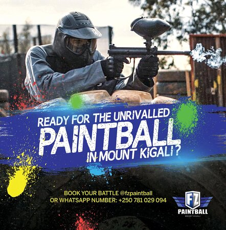 Paintball is the newest attraction