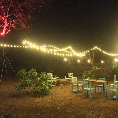 """Vasind, India: Budget camping 60kms frm mumbai located in rural part of Maharashtra.  A private space in jungle to connect to oneself and nature in true way. Enjoy home cooked food , explore hidden lake and trek to near by forest z Be wild and Wnader with us  """"raw camping""""  @Camp-A man and his dogo."""
