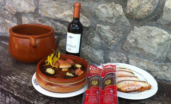 Villasana de Mena, Spain: La buena mesa
