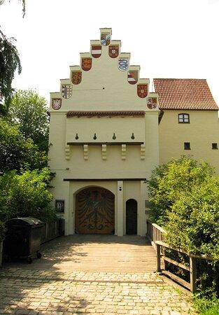 Burg Grünwald Burgtor