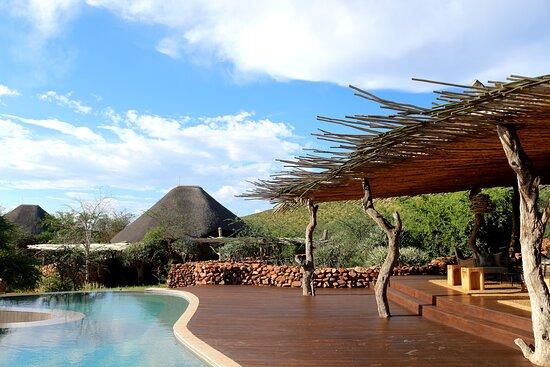 Tswalu Kalahari Game Reserve, África do Sul: Wonderful pool area www.purephotography.co.za