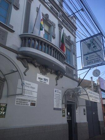 Porto Alegre, RS: Entrada do SPA fevereiro 2021