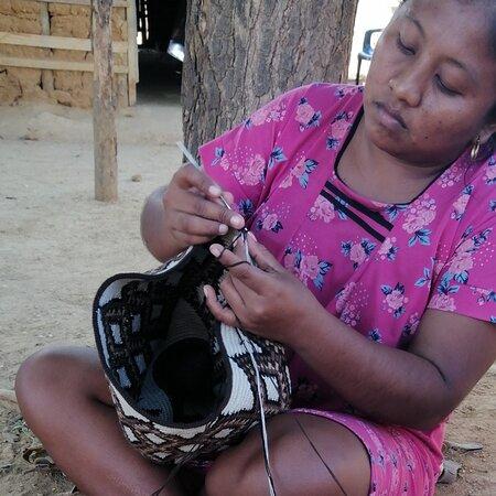 Riohacha, Colombia: Elaboraciones wuayuu