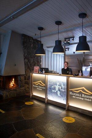 Resepsjon Hafjell Hotell