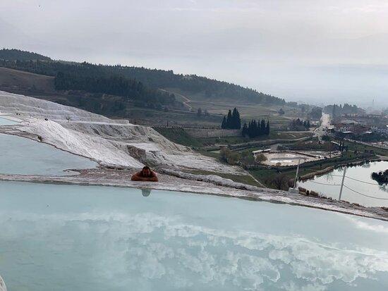 Pamukkale from Antalya Province: заводь для гуляния босиком
