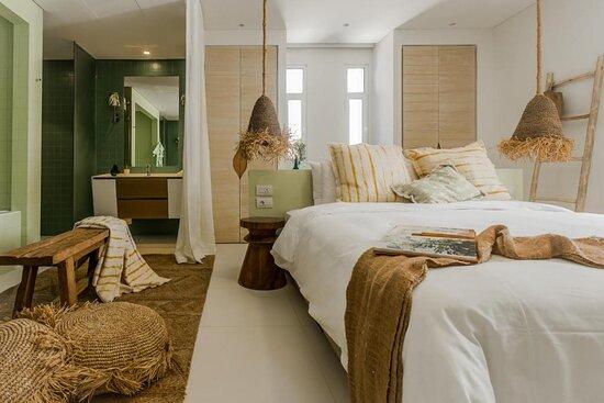 Master bedroom in Two Bedroom Residence.