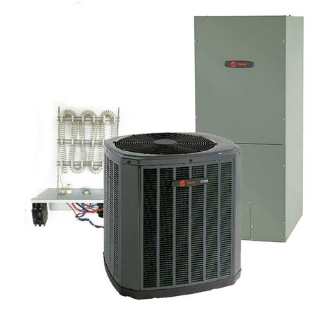 Dallas, TX: An HVAC system ensures indoor comfort for your family. And a Complete Heat Pump like Trane 4 Ton 14 SEER 46500 BTU Single-Stage Heat Pump System does exactly that while consuming minimum fuel.
