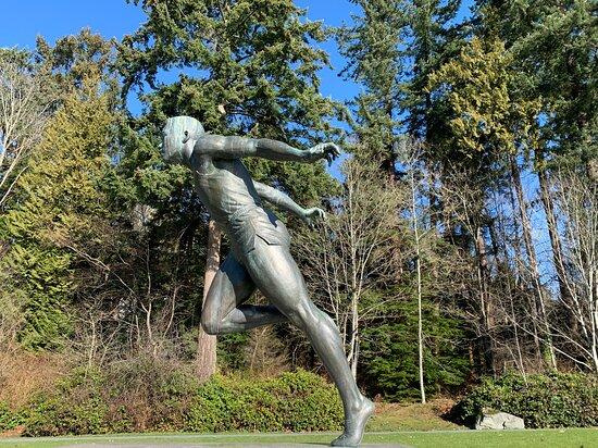 Βανκούβερ, Καναδάς: Statue of Harry Jerome in Stanley Park